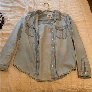 Forever 21 Jean shirt